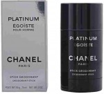 CHANEL EGOISTE PLATINUM deo stick 75 ml