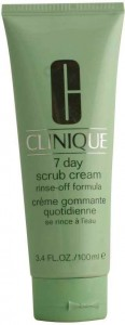 CLINIQUE 7 DAY SCRUB cream rinse off formula 100 ml