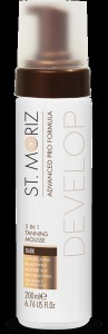 ADVANCED PRO FORMULA 5in1 tanning mousse #dark 200 ml