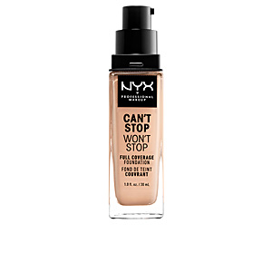 CAN\'T STOP WON\'T STOP full coverage foundation #alabaster 30